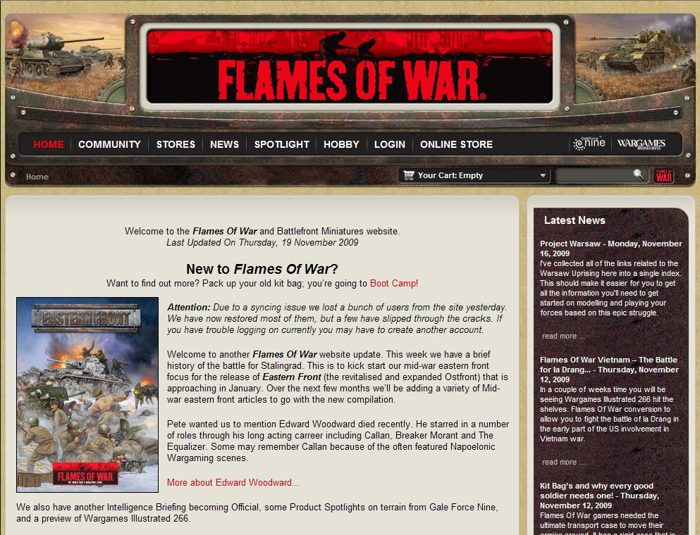 Websites | WARGAMING MISCELLANY | Page 21