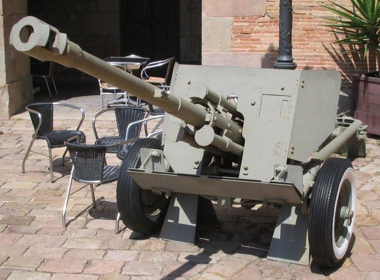 2 cm Flugabwehrkanone/Gebirgsflak/Flakvierling 38 Anti ...  |Anti Aircraft Guns Spanish Civil War