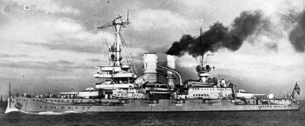 Schleswig-holstein Warship Schleswig-holstein as She