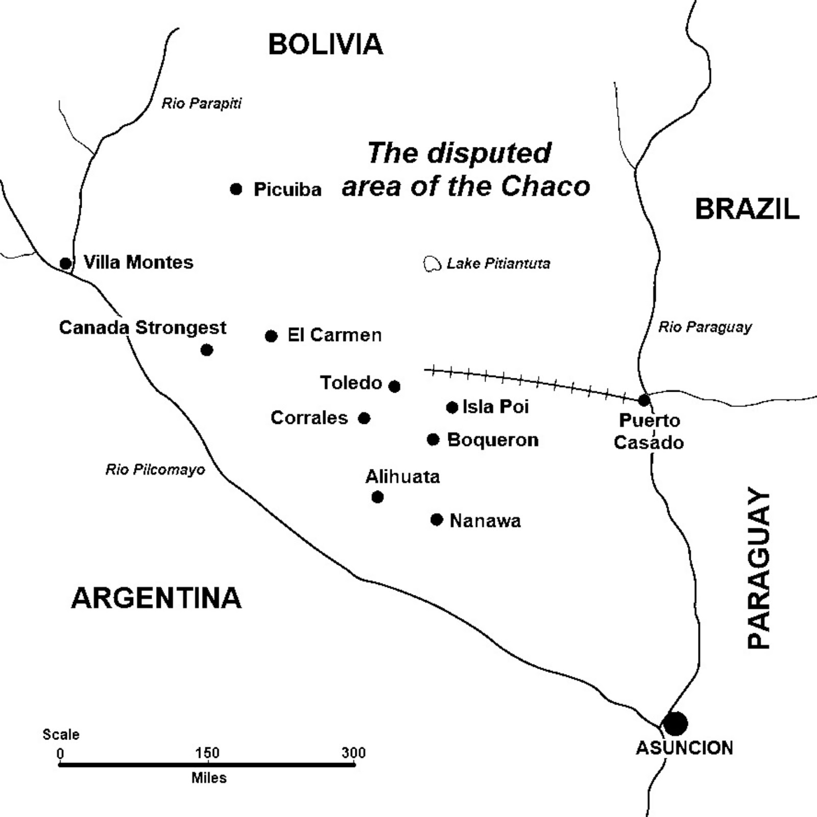 Image Result For Paraguay River On A Map
